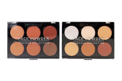 Beauty Treats Contour Face Powder Light