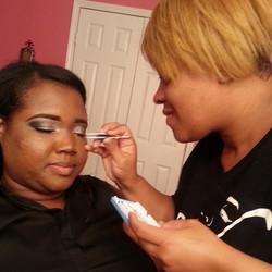DeCarla Posh Makeup Academy Student