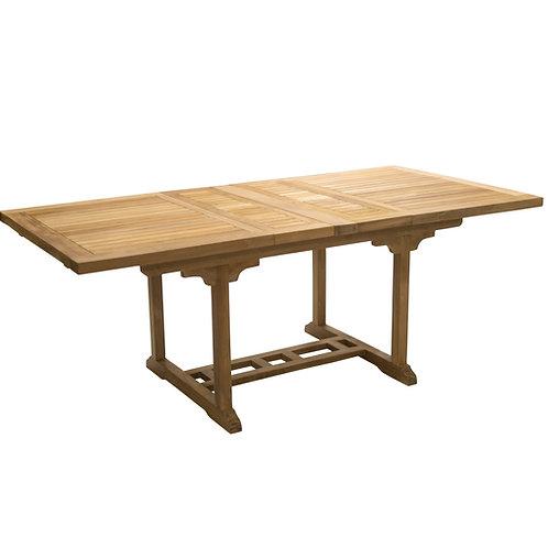 "Largo 78-94"" Rect. Table, Dbl Leaf"