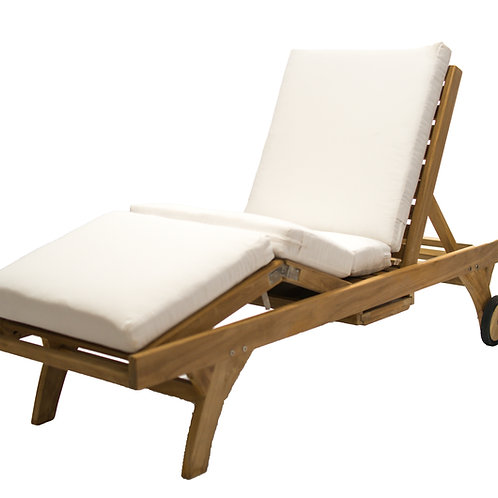 Cushion D-Dbl Fold Lounger