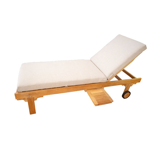 Cushion D-Single Fold Lounger