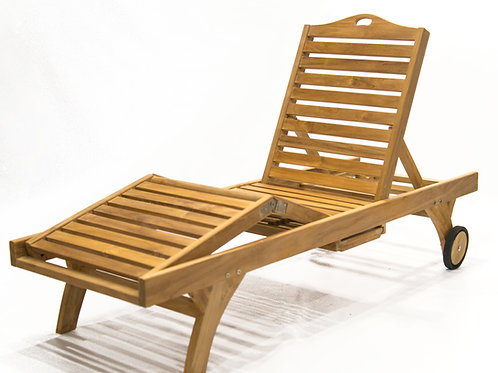 Elan Chaise Lounger Dbl Fold w/ Tray