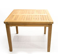 39' sq table