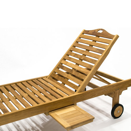Elan Chaise Lounger Single Fold w/Tray