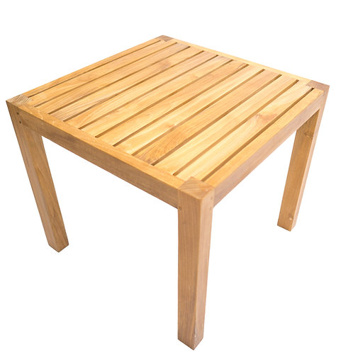 """Milano 26"""" Sq Side Table"""