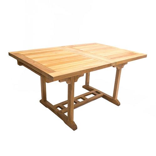 "Largo 60-78"" Rect. Table, Dbl Leaf"