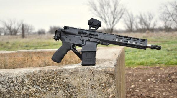 Stone Grey AR Pistol
