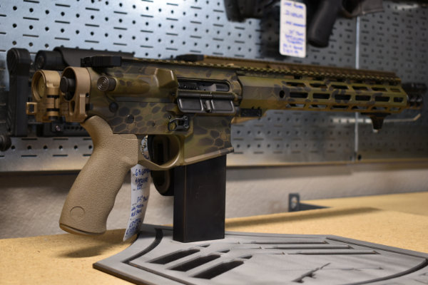 "Sgt of Arms pistol, 12.5"" Grendel, FDE law tactical"