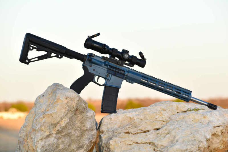 Blue Titanium Sgt of Arms Carbine