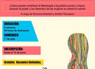 CURSO: Derechos, mujeres y filantropía en América Latina