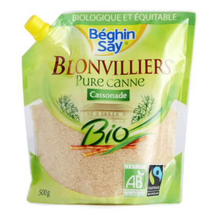 """Blonvilliers Bio"" Organic Pure Cane Powder Suger (500g)"