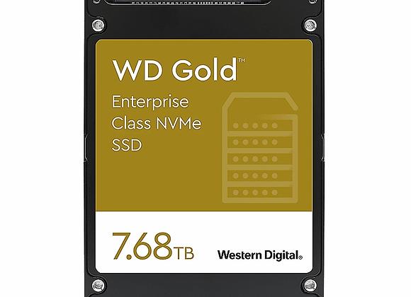 WD Gold Enterprise NVMe SSD 7,68 TB U.2 PCIe 3.1 x4