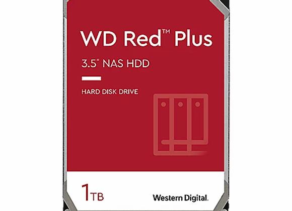 WD Red Plus WD10EFRX - 1TB 5400rpm 64MB 3,5 Zoll SATA 6 Gbit/s