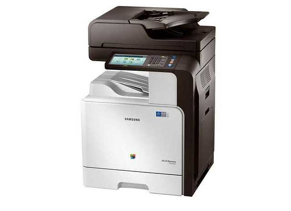 Samsung MultiXpress C9251NA CLX-9251 Farbkopierer, Netzwerkdrucker, Scanner, Fax