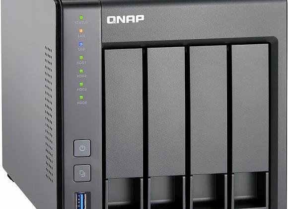 QNAP TS-431X2 NAS-Server - SATA 6Gb/s