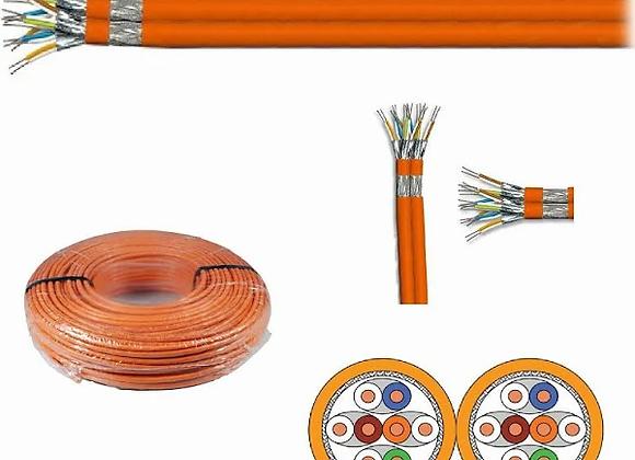 Verlegekabel Netzwerkkabel Cat.7 S/FTP 1000Mhz 10GB Duplex 100m