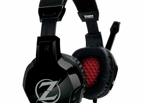ZALMAN ZM-HPS300 Ohrumschließend - kabelgebunden Headset - Schwarz/Rot/Rot/Schwa