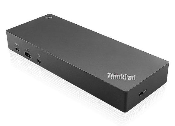 Lenovo ThinkPad Hybrid USB-C Dock mit USB A für E480, E580, etc. (40AF0135EU)