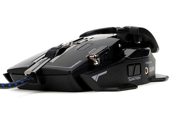 Zalman ZM-GM4, Laser, USB Typ-A, 8200 DPI, Schwarz