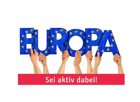 Aufruf zur Beteiligung am Demokratie- und Europafest auf dem Steinplatz