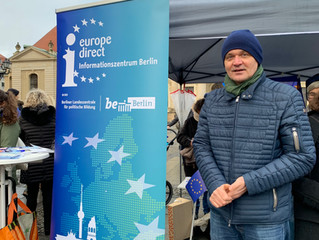 #Europaparcours – Pulse of Europe, 27. Januar, Gendarmenmarkt