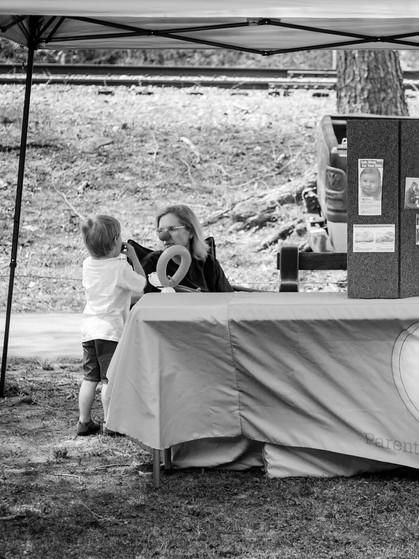 Parents as Teachers booth