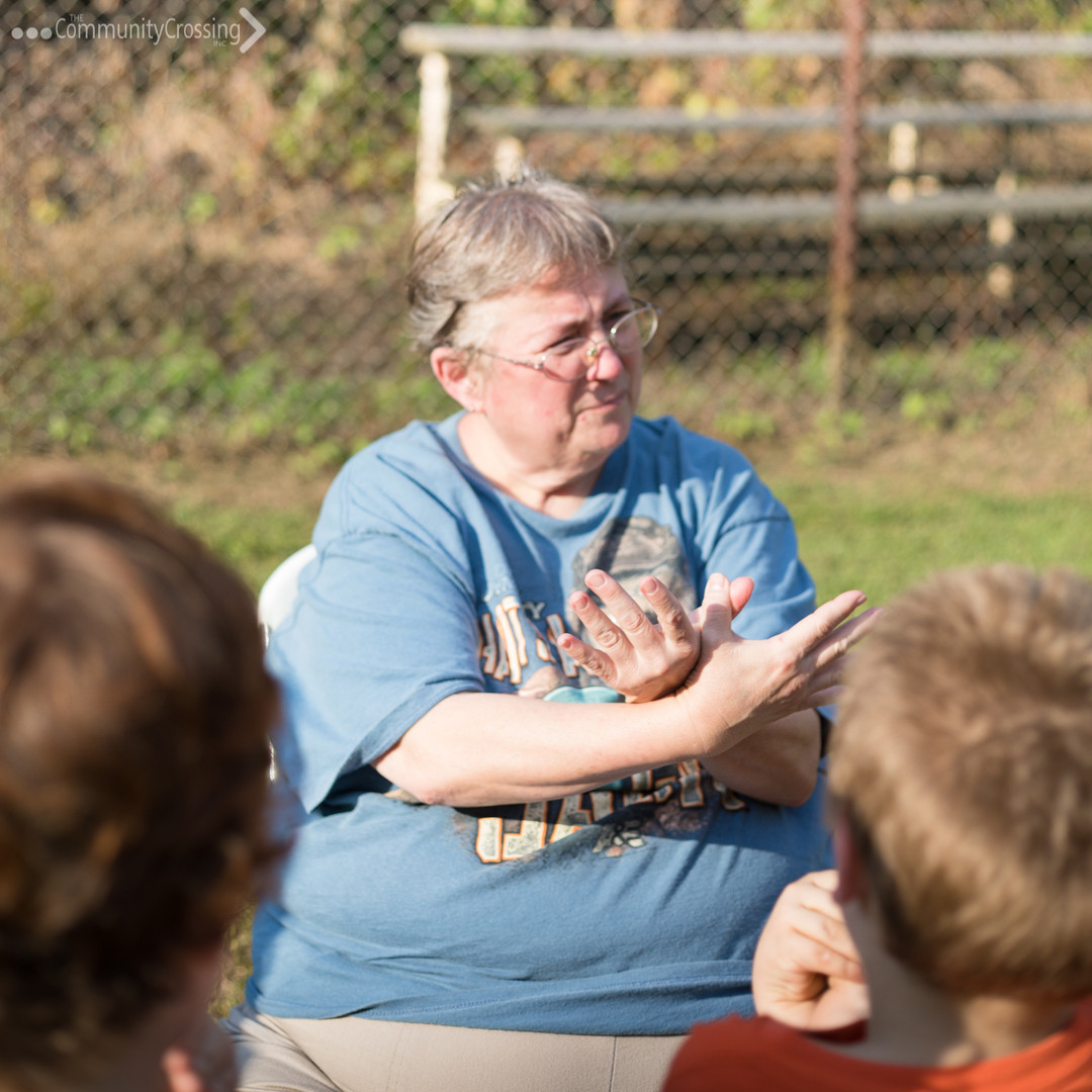 Sign Language with Patricia Barker from Welch United Methodist Church.