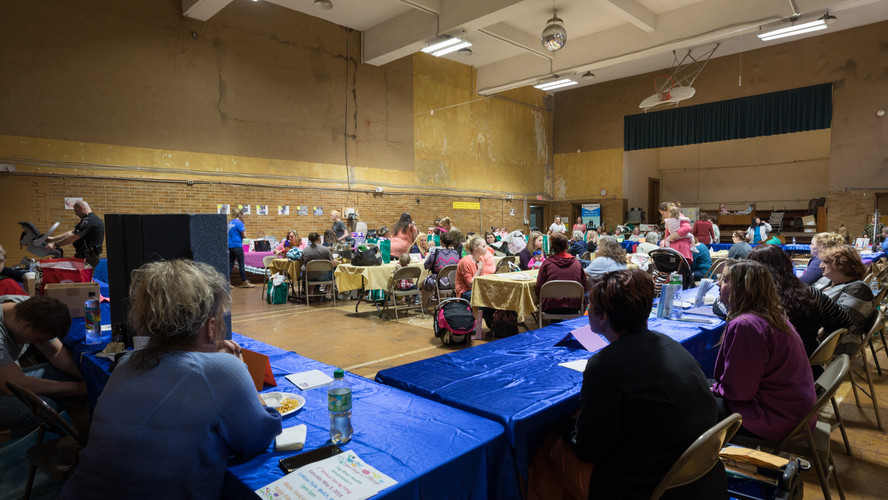 Big Creek People in Action annual Community Baby Shower