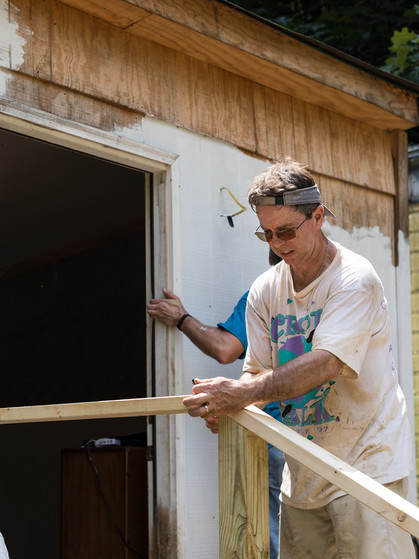 Home repair with our partners from Spirit of Joy