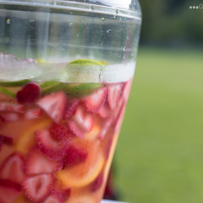 Healthy and refreshing infused water from WVU Extension.