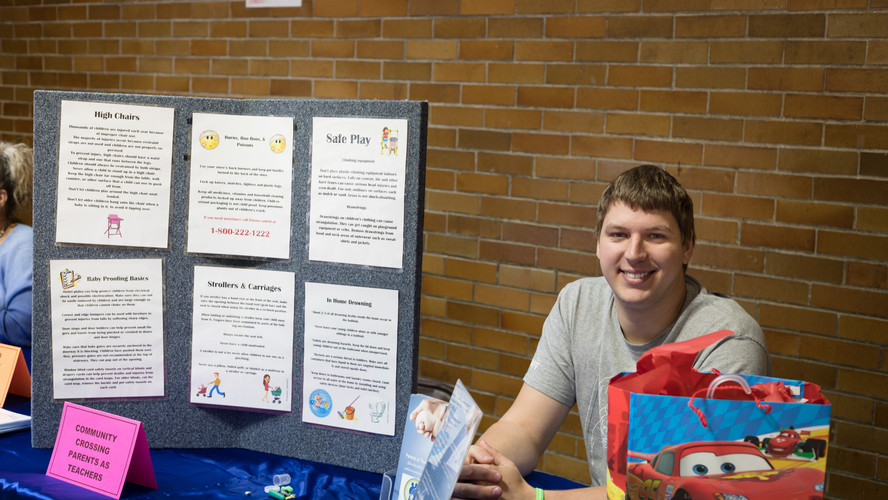 Kyler Wilson representing Parents as Teachers