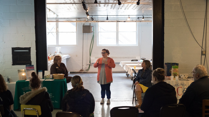 Baby wearing information and demonstration by Shannon Pace