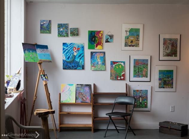 Awakened Artwork paintings by Jay Cox