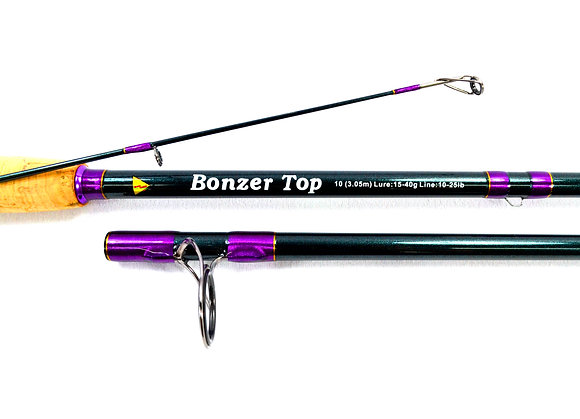 BONZER TOP medium/heavy 10ft/3m spin rod