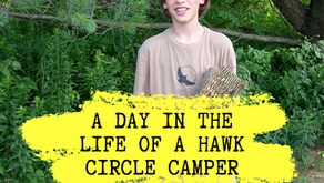 A Day in the Life of a Hawk Circle Camper