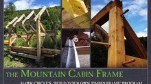 The Mountain Cabin Timber Frame