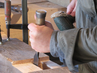 Making Timber Framing Beam Horses