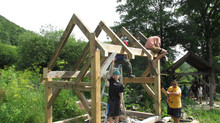 The 2017 Spring Timber Framing Apprenticeship and other news...