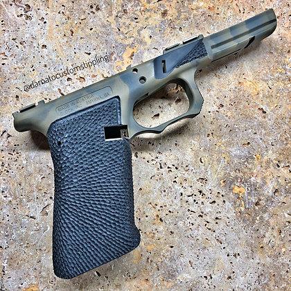 Glock 17 Frame Stippled