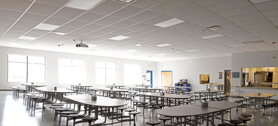 South Central High School: lunchroom