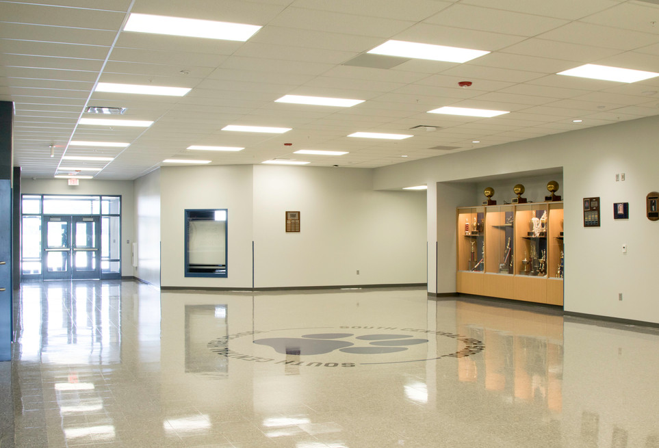 South Central High School: entry