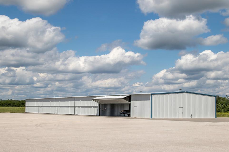 Beardstown Airport Hanger