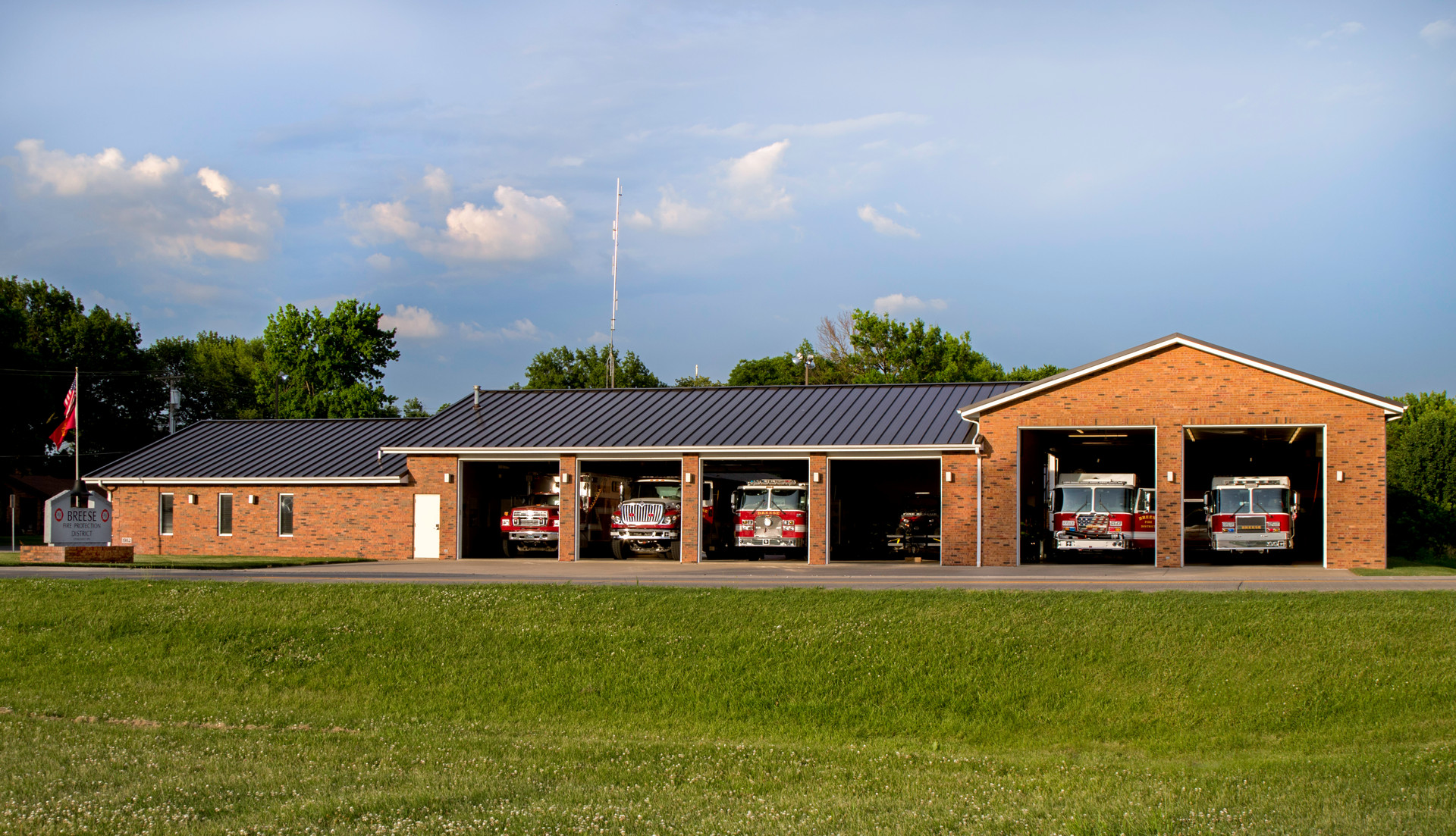 Breese Fire Station
