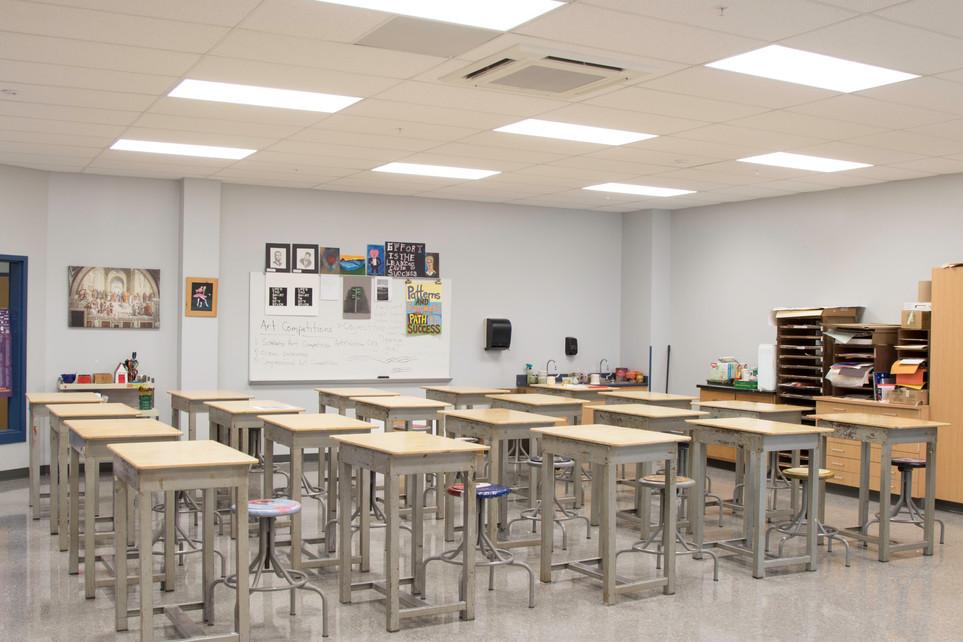 South Central High School: classroom