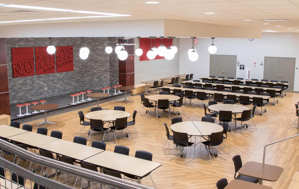 Nokomis High School: lunchroom