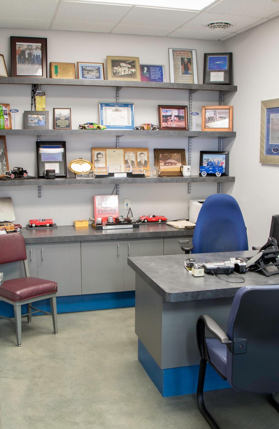 Breese Motors: office detail