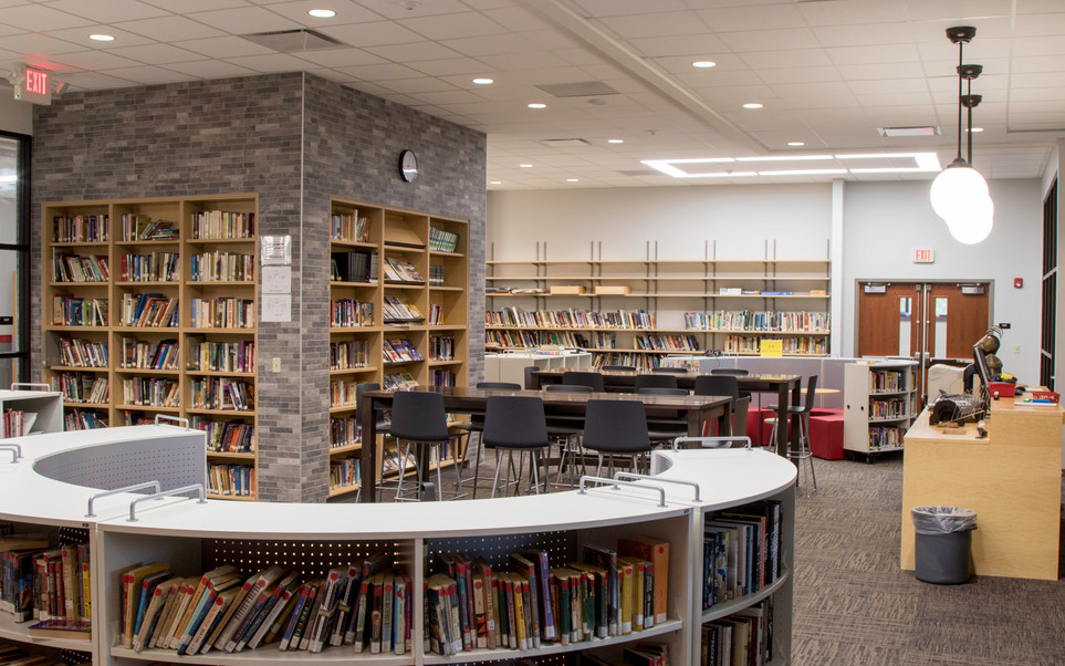 Nokomis High School: library