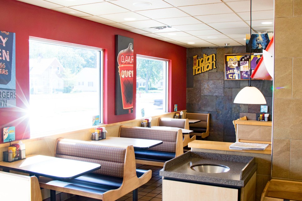 Dairy Queen Carlyle: inside