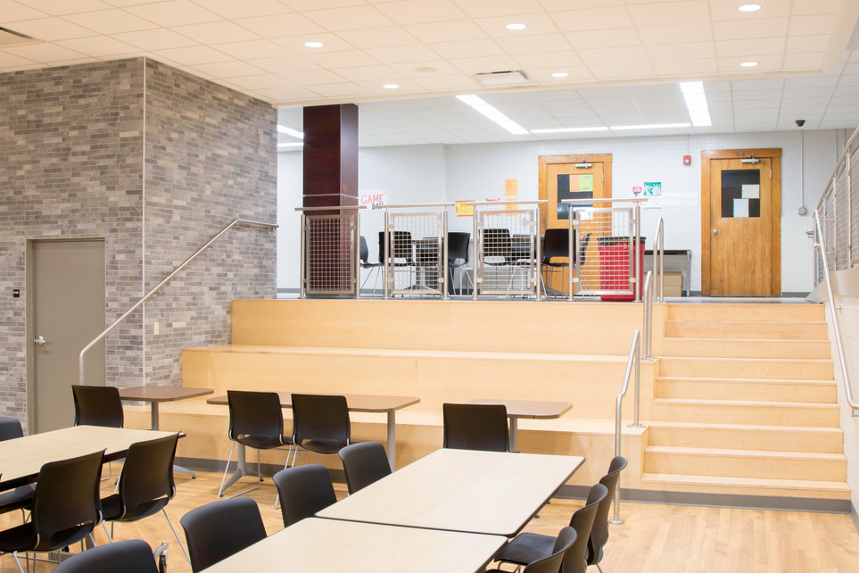 Nokomis High School: lunchroom detail
