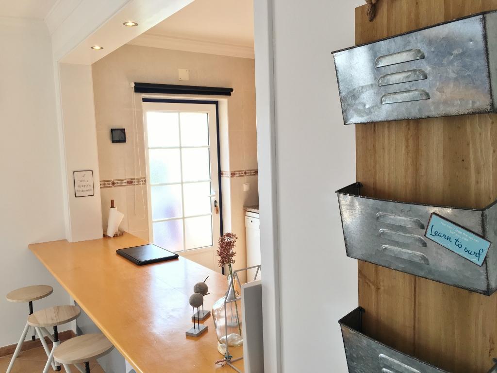 Open bar kitchen
